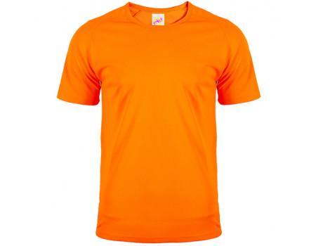 Футболка чоловіча спортивна оранжева m178