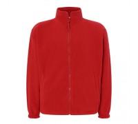 Флисовый свитер мужской красный m548