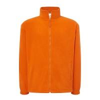 Флісовий светр чоловічий оранжевий m546