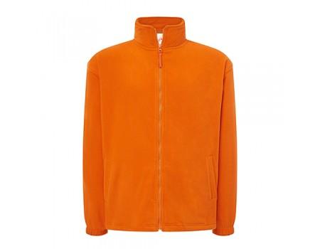 Флисовый свитер мужской оранжевый m546