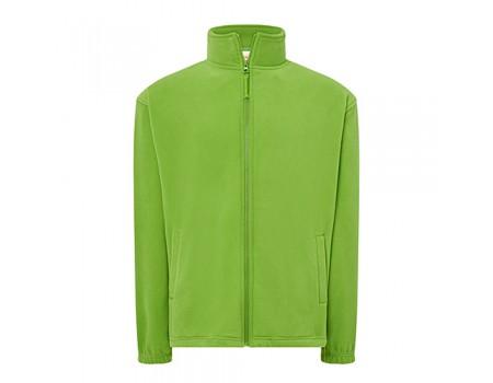 Флисовый свитер мужской салатовый m544