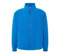 Флисовый свитер мужской синий m551