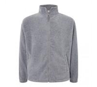 Флисовый свитер мужской серый m552