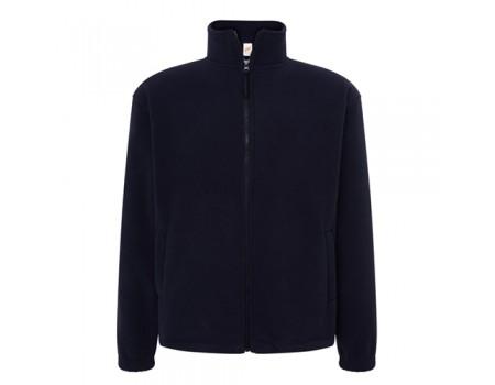 Флисовый свитер мужской темно синий m549