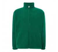Флисовый свитер мужской зеленый m547