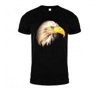 Футболка чорна орел m160