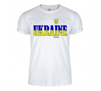 Футболка белая Украина m142