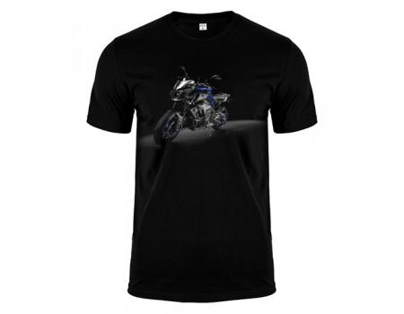 Футболка черная Моцик m171