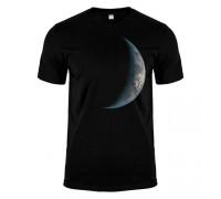Футболка чорна планета m173