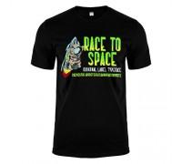 Футболка чорна Racetospace m174