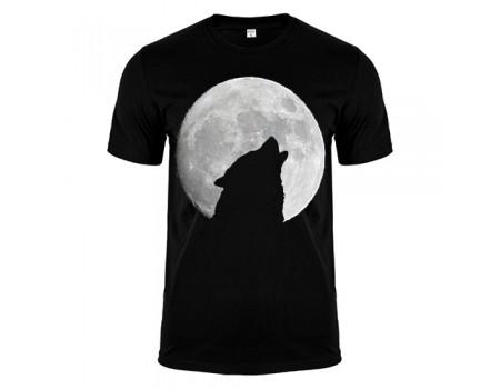 Футболка чорна Wolf m185