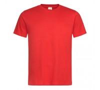 Футболка чоловіча з круглим вирізом червона m102