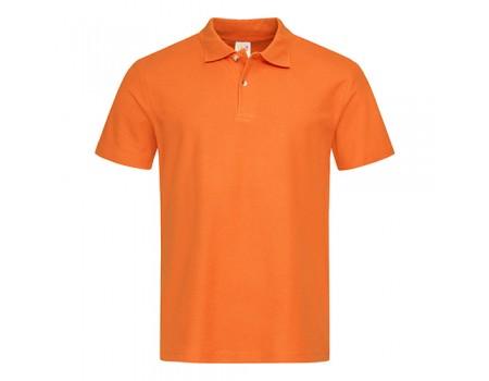Футболка Поло чоловіча помаранжеве m229