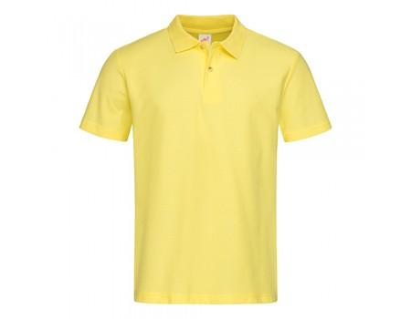 Футболка Поло мужская желтая m330