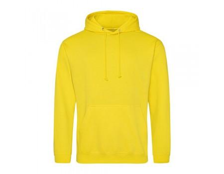 Худі жіноча з капюшоном жовта  w325