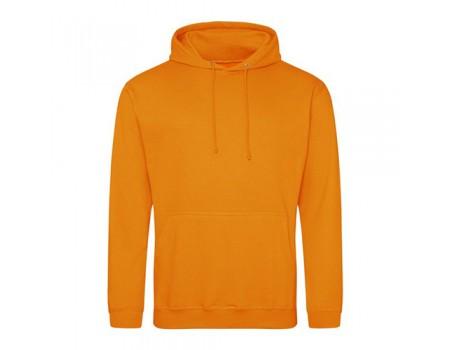 Худі женская с капюшоном оранжевое w324