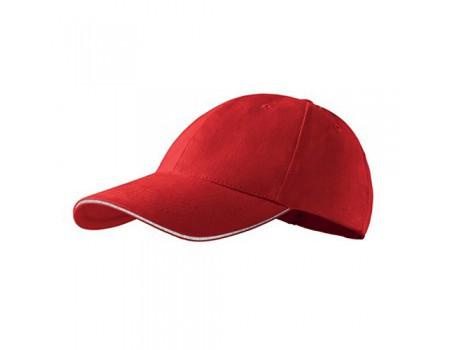 Кепка мужская 6P PREMIUM красная m631