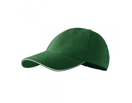 Кепка чоловіча 6P PREMIUM  зелена m632