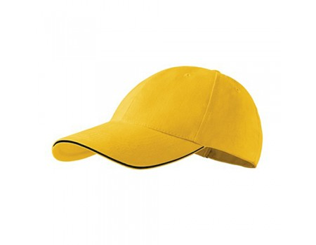 Кепка чоловіча 6P PREMIUM жовта m638