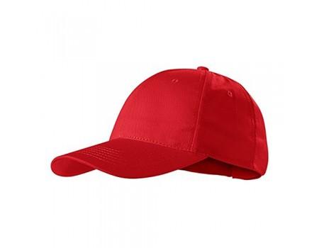 Кепка чоловіча 6P червона m602