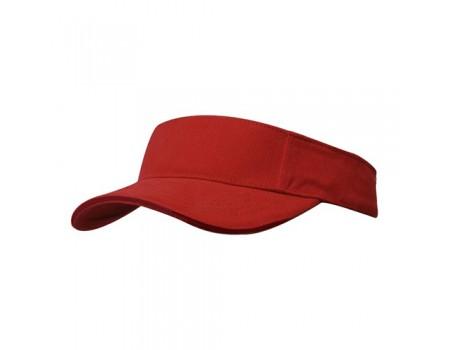 Козырек мужской красный m623
