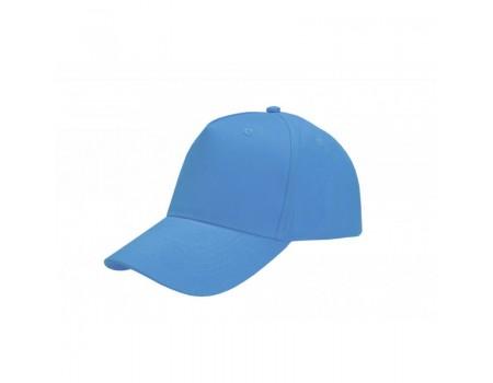 Кепка чоловіча 5P PROMO блакитна m614