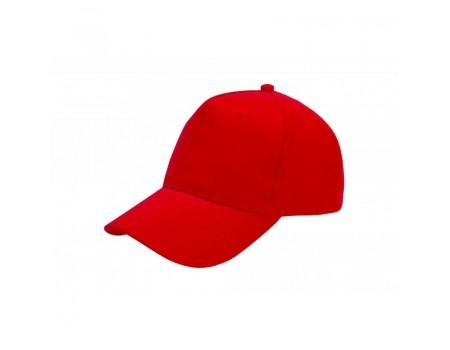 Кепка чоловіча 5P PROMO червона m611