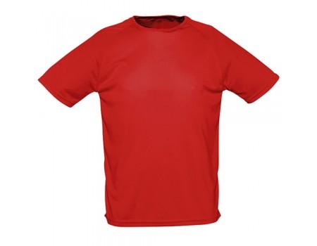 Футболка жіноча спортивна червона w175
