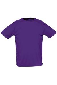 Футболка чоловіча спортивна фіолетова m164