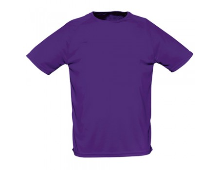 Футболка жіноча спортивна фіолетова w183