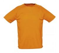 Футболка женская спортивная оранжевая w179