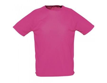 Футболка женская спортивная розовая w178