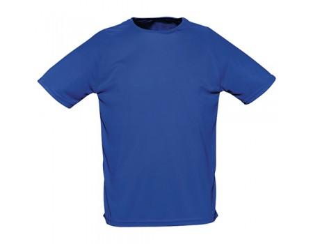 Футболка женская спортивная синяя w181