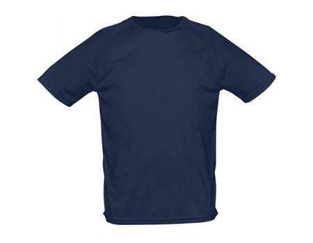 Футболка мужская спортивная темно синяя m165
