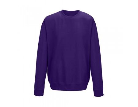Свитшот женский фиолетовый w306