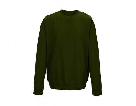 Світшот чоловічий темно зелений m516