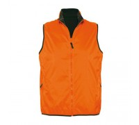 Безрукавка женская нейлоновая оранжевая w364