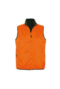 Безрукавка мужская нейлоновая оранжевая m572