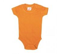 Боди детское  оранжевое с117