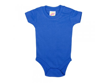 Боди детское синее с118