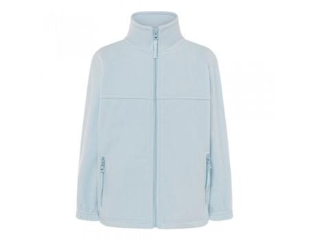 Флисовый свитер детский голубой с208