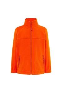 Флисовый свитер детский оранжевый с203