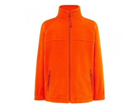 Флісовий светр дитячий оранжевий с203