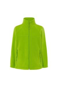 Флисовый свитер детский салатовый c200