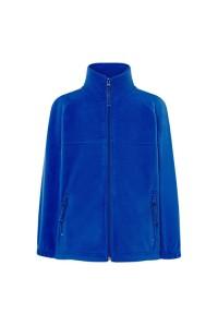 Флисовый свитер детский синий с201