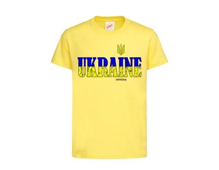 Футболка жовта Україна c145