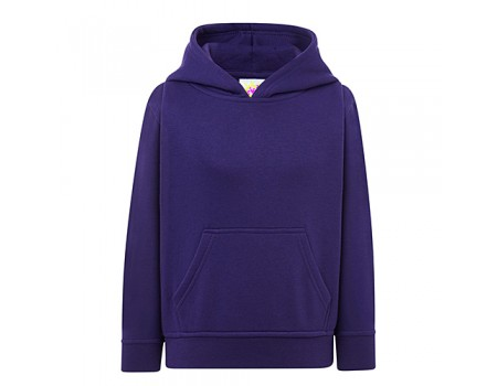 Толстовка дитяча з капюшоном фіолетова с185