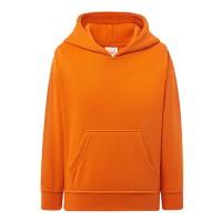 Толстовка детская с капюшоном оранжевый с190