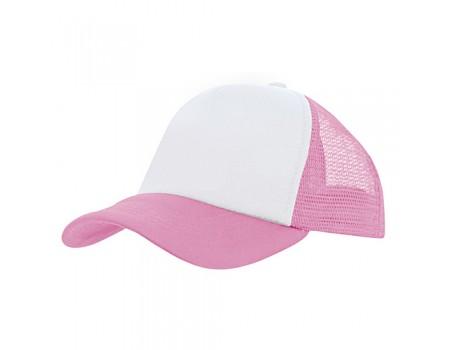 Кепка детская 5P розовая c304