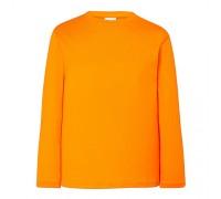 Лонгслив детский оранжевый с130